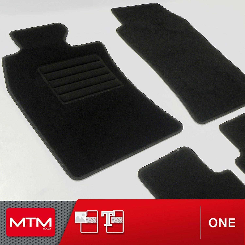 R50 /& R53 c/ód a Medida Forma Original en Moqueta Antideslizante One 2207 Desde 2001-10.2006 MTM Alfombrillas Mini