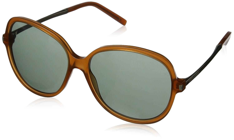 Yves Saint Laurent SL 23 8OQ gafas de sol, Gris (Light Brown ...