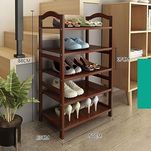 Organizador de Calzado/Zapatero bajo Escalera Zapatero Alto y Estrecho estantes Robusta Villa Balcón Shoebox (Size : 70cm): Amazon.es: Hogar