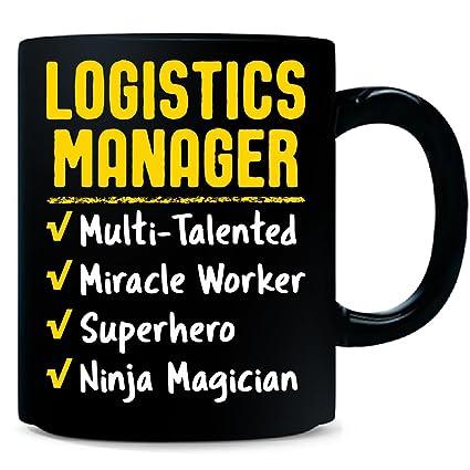 Amazon.com: Logistics Manager Miracle Worker Superhero Ninja ...