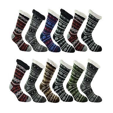 40083510cca27 4.7 TOG Extra Warm Mens Extreme Hot Thermal Socks (Size 6-11 UK 39-45 EUR,  Snow Flakes): Amazon.co.uk: Clothing