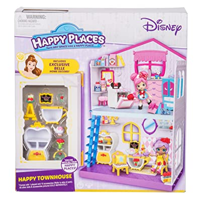 Happy Places Disney Happy Townhouse Playset: Toys & Games