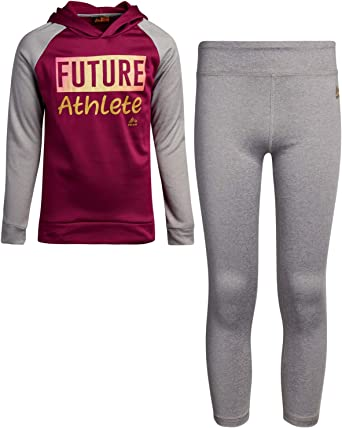 and Leggings Set RBX Girls Activewear Set T-Shirt Zip-Up Hoodie Sweatshirt