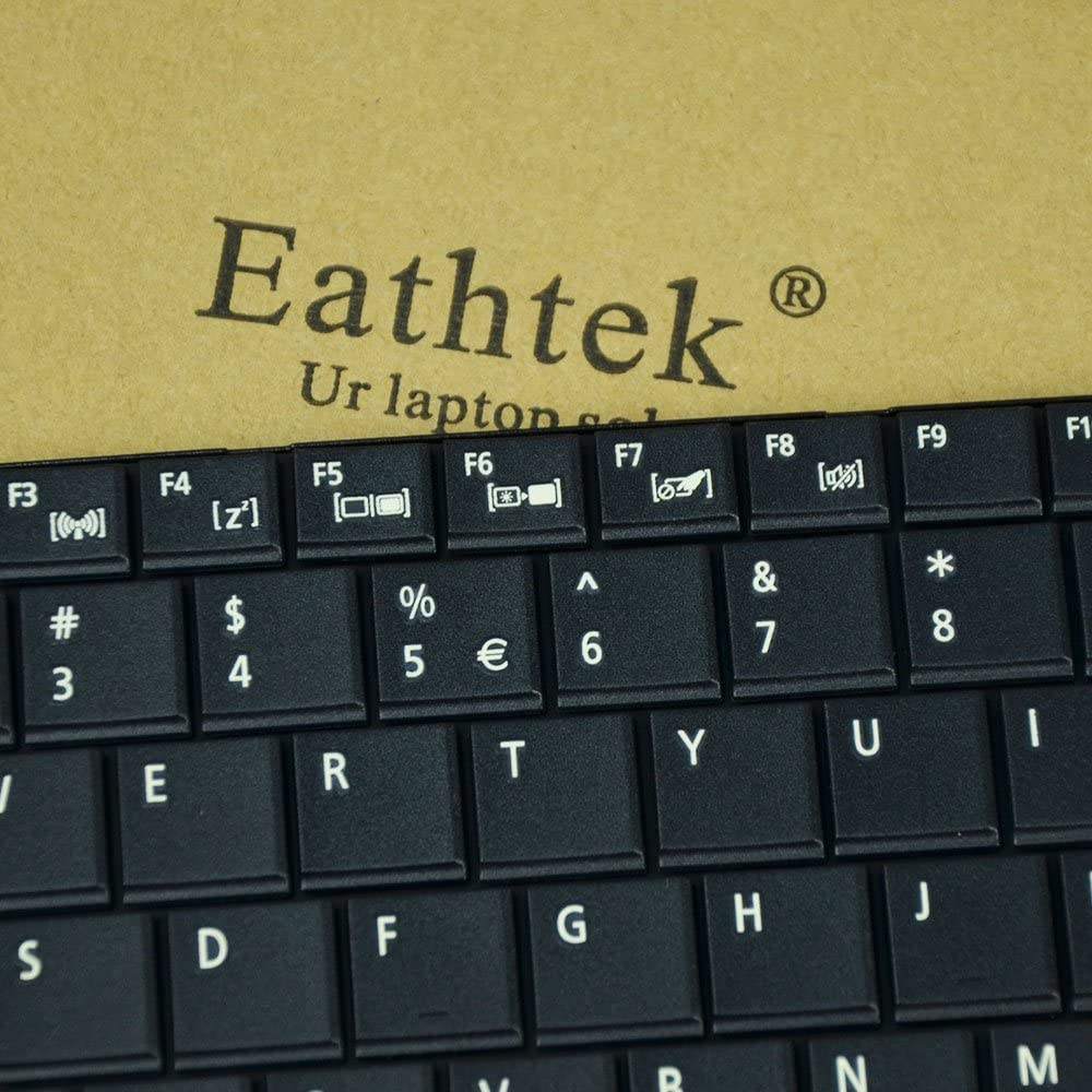 Eathtek Replacement Keyboard for Acer Aspire E1-521 E1-531 E1-531G E1-571 Travelmate P253-E P253-M 8571 8531 8572 5742Z 5744 5744Z Series Black US Layout