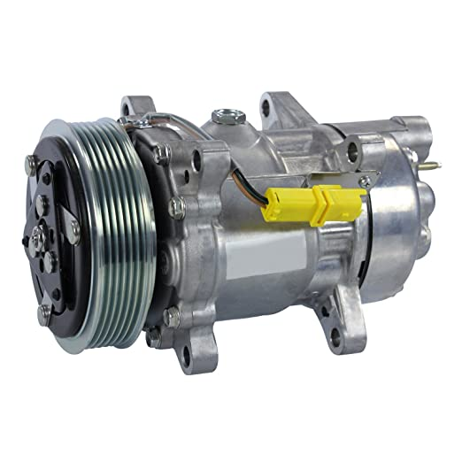 climática Compresor climática Compresor Aire Acondicionado sanden sd6 V12,: Amazon.es: Coche y moto