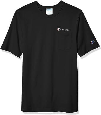 Champion Mens Heritage Pocket Tee T-Shirt