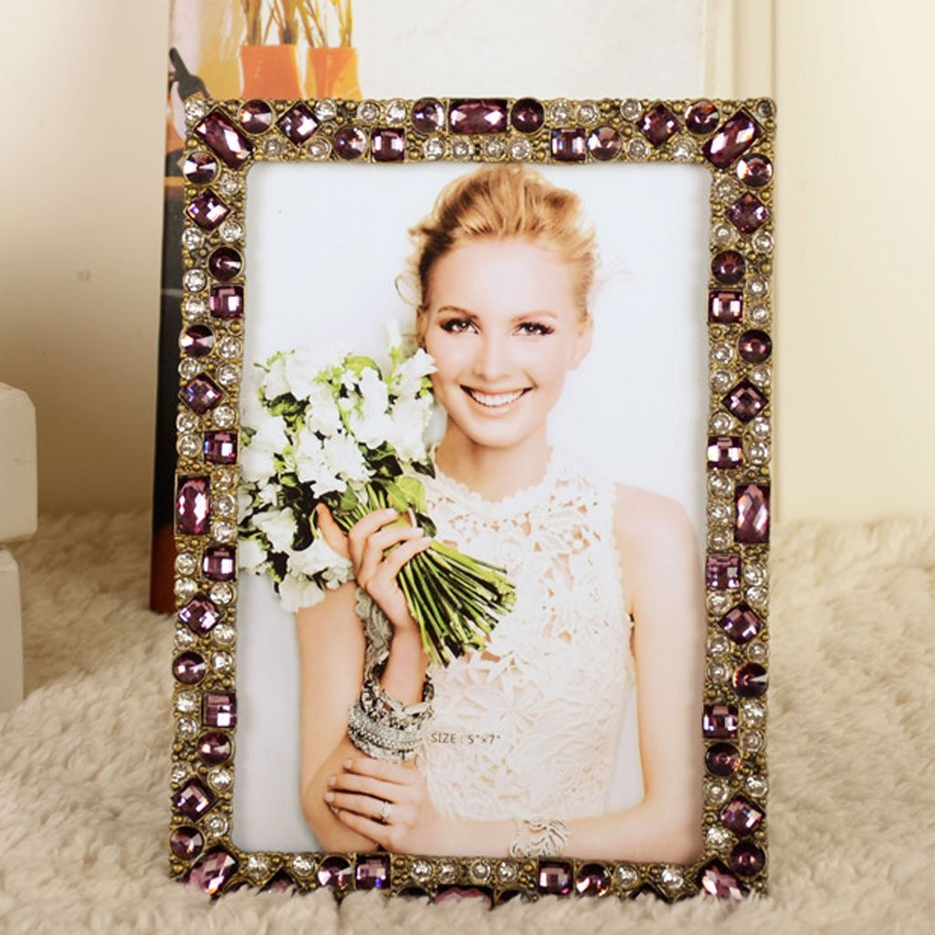 Metall-Fotorahmen, Diamant-Bilderrahmen, Crystal Photo Frame ...