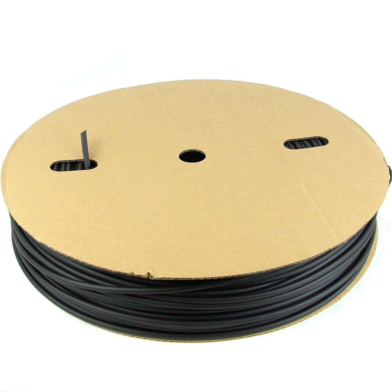 hier 200m Rolle /ø3mm Schrumpfschlauch Rolle Rollenware in Auswahl 1mm bis 40mm Durchmesser