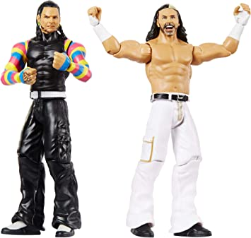 WWE - Pack de 2 figuras de acción luchadores The Hardy Boy ...