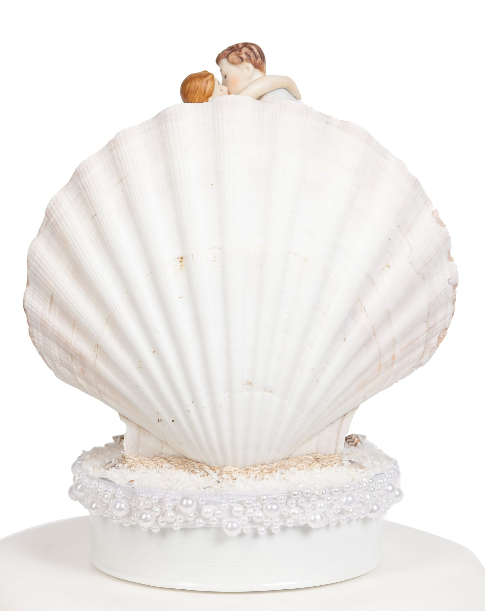 Wedding Collectibles Beach Get Away Shell Wedding Cake Topper by Wedding Collectibles (Image #3)