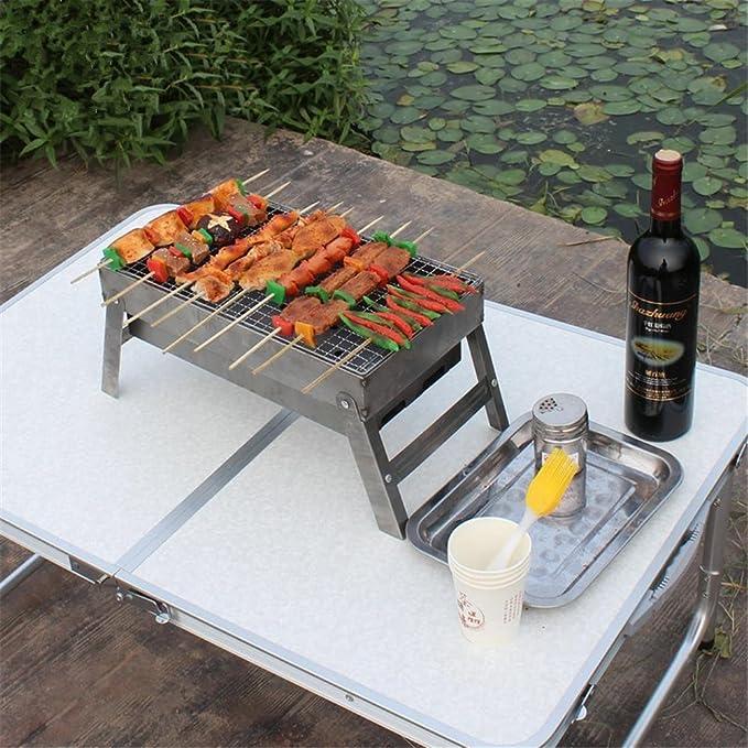 HomJo Barbacoa grill Barbacoa Parrilla de carbón al aire ...