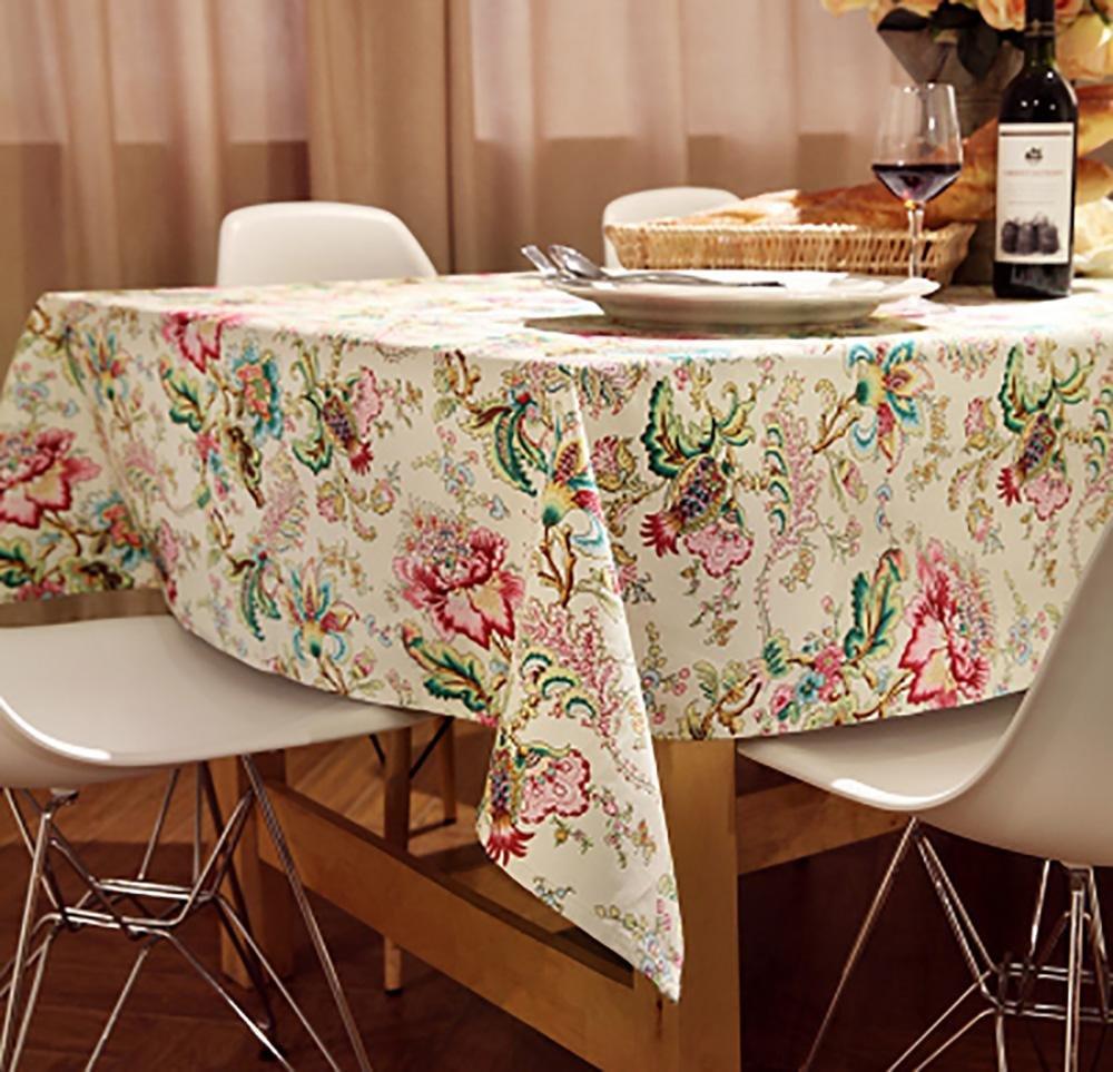 mejor reputación C mantel de lino de estilo pastoral vintage mantel mantel mantel para la decoración del hogar mesa de comedor familiar , E , 120180cm 100160cm  popular