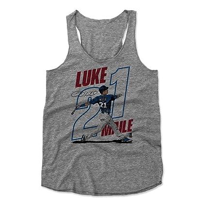 500 LEVEL Luke Maile Women s Tank Top Small Heather Gray - Toronto Baseball Women s  Apparel - d13ae21f3c