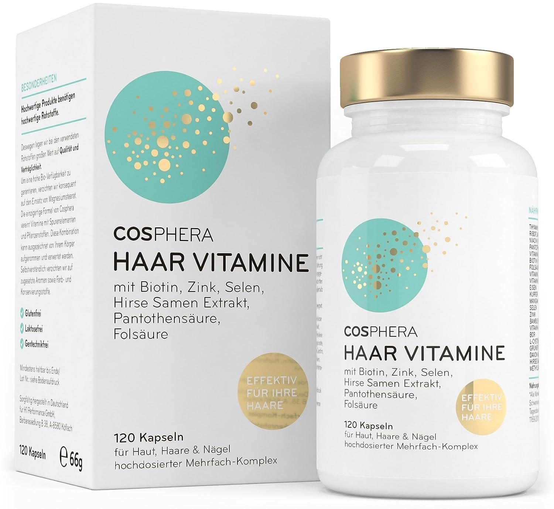 10 Modelle 1 überragender Sieger Haare Vitamin Test 072019