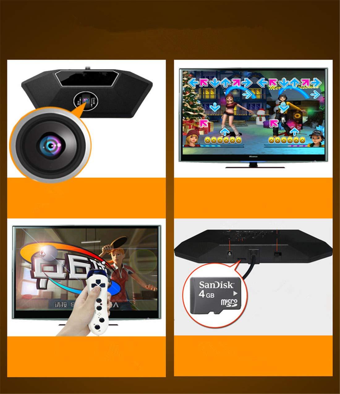 Skiout Tappeto da Ballo Doppia con Gamepad Tappeto Musicale Antiscivolo Dance Pad per Adulti//Bambini TV Computer Tappeto di Danza