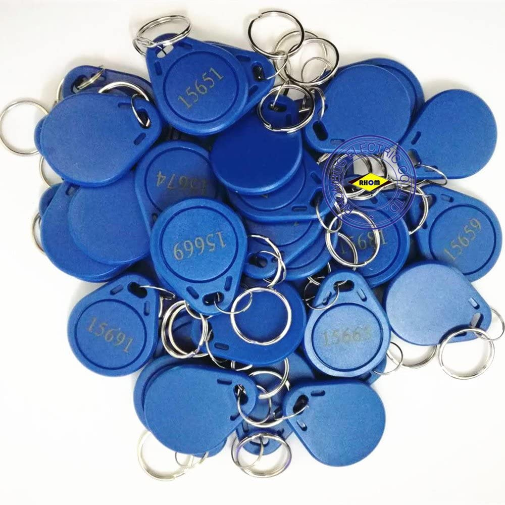 20pcs 26 Bit Proximity Key Fobs Weigand Prox Keyfobs Compatable with ISOProx 1386 1326 H10301 Format Readers Works with The vast Majority of Access Control Systems