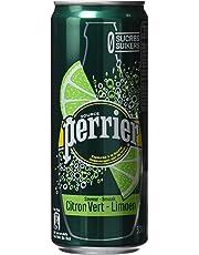 Perrier Citron Vert Eau Minérale Bouteille 6 x 33 cl