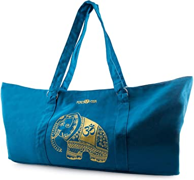 Amazon.com: Peace Yoga bolso para tapete de yoga: Sports ...