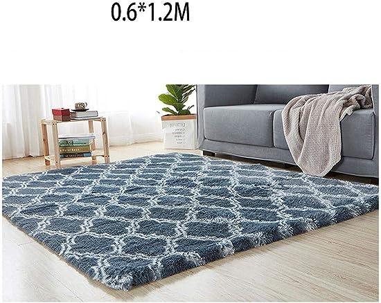 RIBITENS Anti-Slip Tie Dye Living Room Area Rugs Rectangle Carpet Floor Mat Home Decor Mats