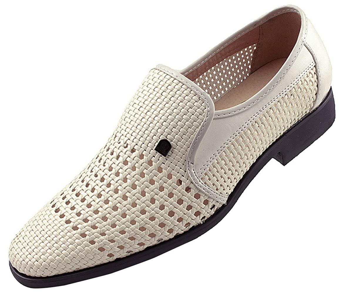 Männer Sommer Hohl Sandalen Derby Schuhe Business Casual Schuhe Handgewebte Atmungsaktiv