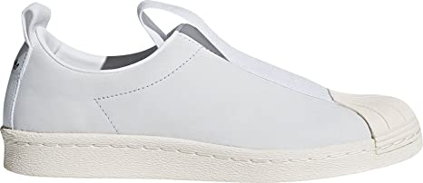 da Donna Adidas Superstar Slip-on Scarpe, White/White/Black, 9