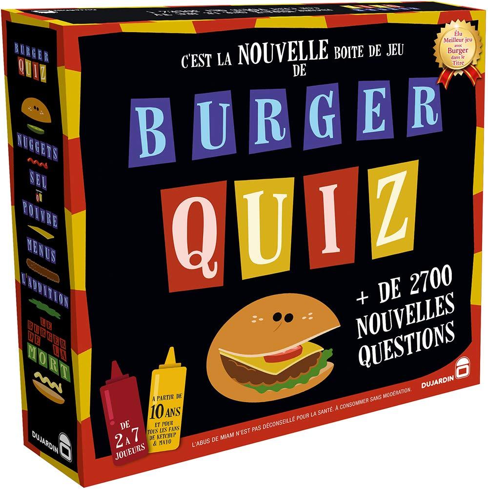 Dujardin - Jeux de société -Burger Quiz - 01095 product image