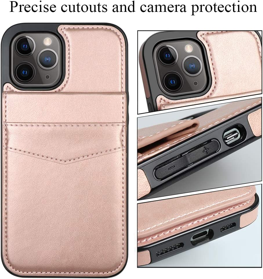 Black LakiBeibi Compatible with iPhone 12 Pro Case Dual Layer Lightweight Premium Leather Wallet Case with Card Slots Flip Phone Case Replacement for iPhone 12 Pro /& iPhone 12 6.1 Inches 2020