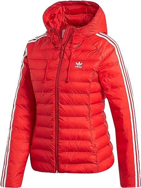 estilo Pascua de Resurrección atómico  adidas Originals Jacke Damen Slim Jacket ED4785 Rot, Size:34: Amazon.de:  Sport & Freizeit