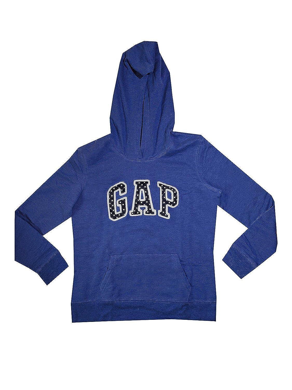 GAP Womens Fleece Arch Logo Pullover Hoodie
