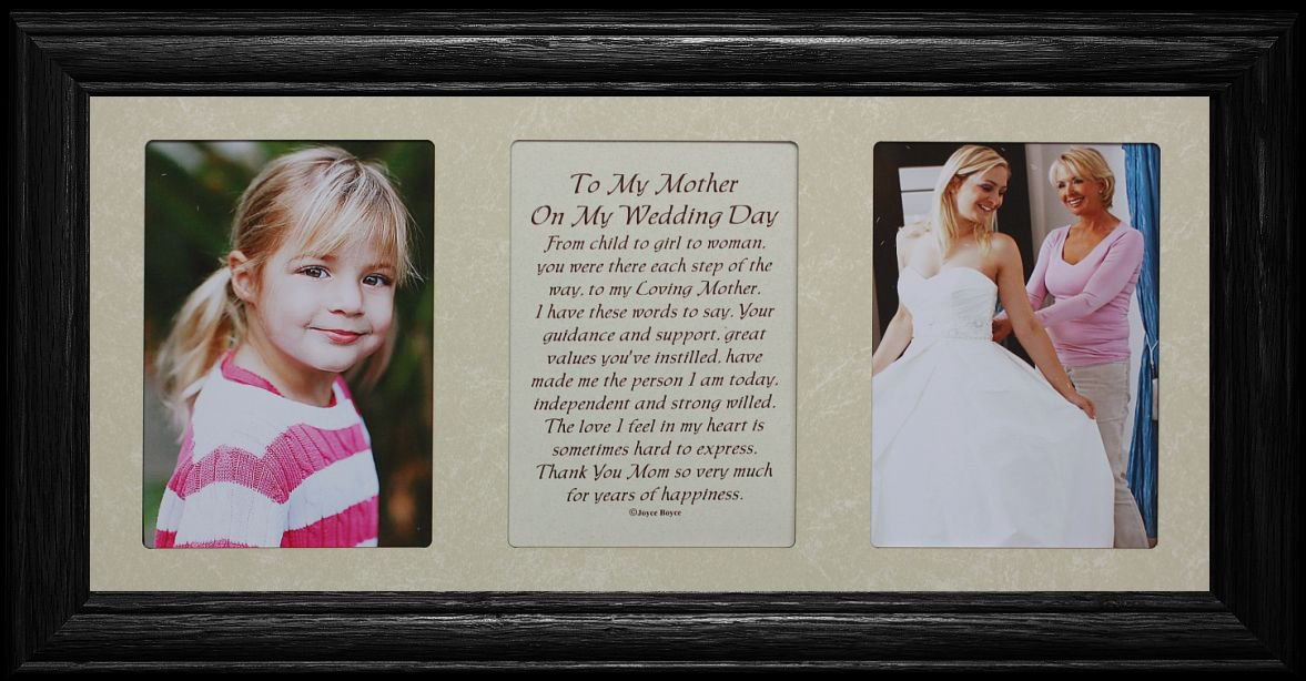 Amazon.com - 7x15 TO MY MOTHER ON MY WEDDING DAY Poetry & Photo ...