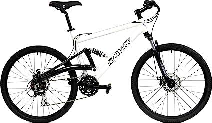 Gravity FSX 1.0 Dual Full Suspension Mountain Bike amazon
