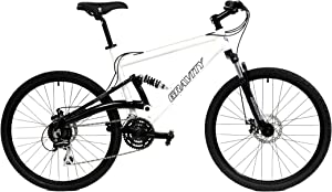 Gravity 2020 FSX 1.0 Dual Full Suspension Mountain Bike with Disc Brakes Aluminum Frame