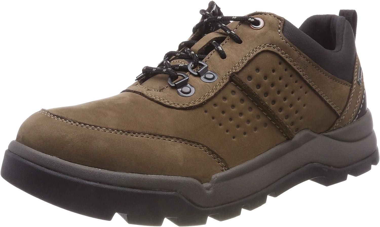 Clarks Un Atlas Logtx, Zapatos de Cordones Derby para Hombre