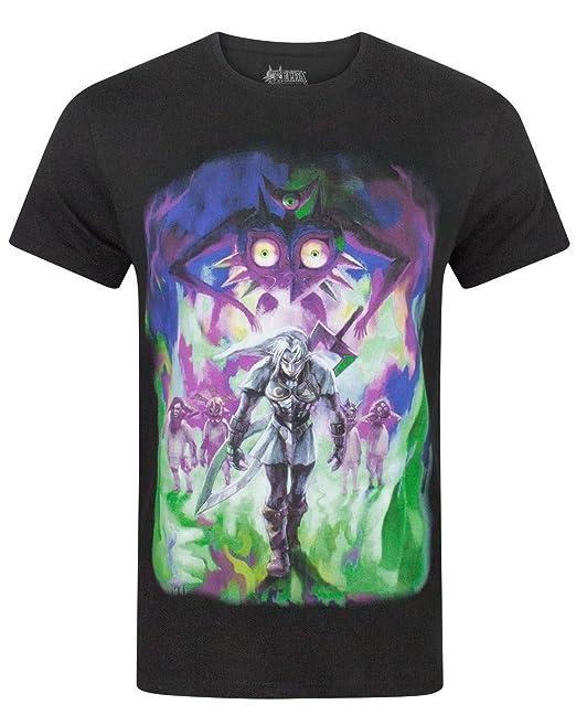 Zelda Majoras Mask Fierce Deity Link Mens T-Shirt ...