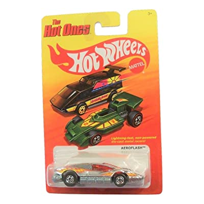Mattel 2011 Hot Wheels The Hot Ones Aeroflash Chrome: Toys & Games