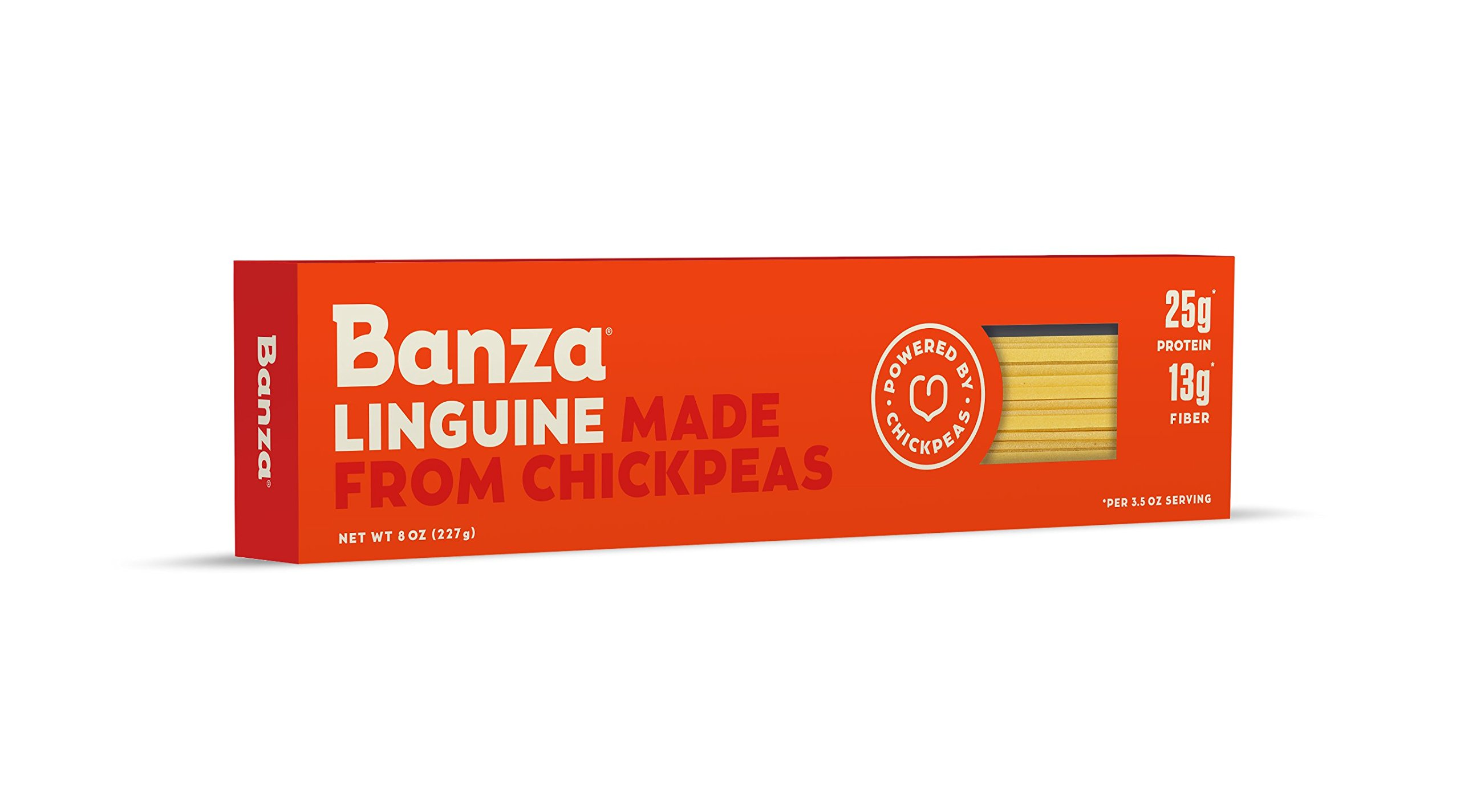Banza Chickpea Pasta, Linguine(Pack of 6)