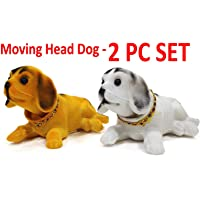 WP Car Dashboard Moving Head Toy Dog - Set of 2 Pieces