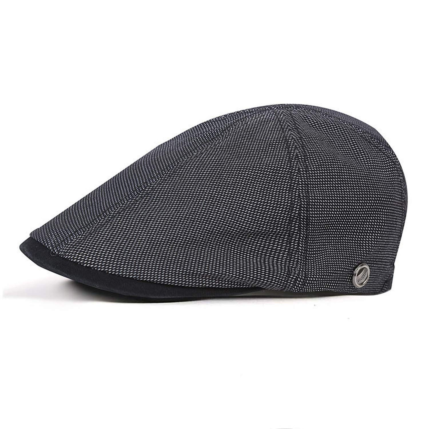 ANDERDM 2019 New Washed Cotton Newsboy Caps French Style Cabbie Flatcap Spring Summer Men Womens Berets Cap