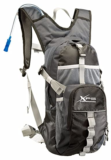 Amazon.com: Bass Pro Shops XPS 2L Hydration Pack - Black/Gray ...
