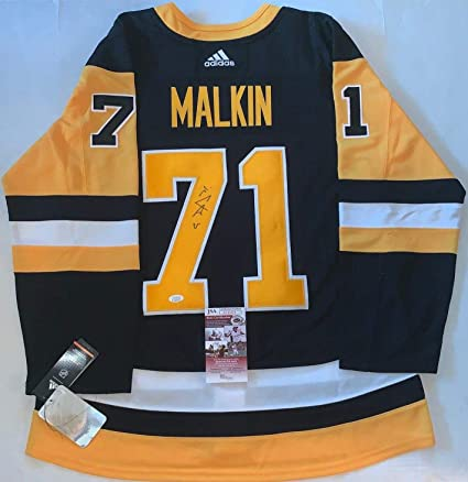 Image Unavailable. Image not available for. Color  Evgeni Malkin Signed  Jersey ... 3f019c4f1