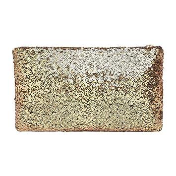 BESTVECH Gold Fashion Fashion Women Sequins Clutch Bag Retro Party Glitter  Envelope Bag  Amazon.in  Shoes   Handbags 8435f69de2fe