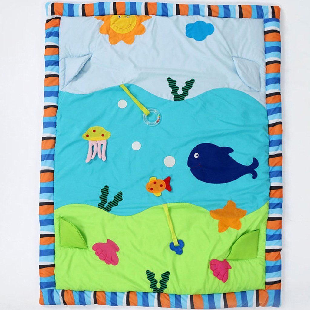Dovewill Baby Toys Animals Educational Crawling Activity Mat Play Gym Carpet Puzzle Mat - Ocean, as described by Dovewill (Image #5)