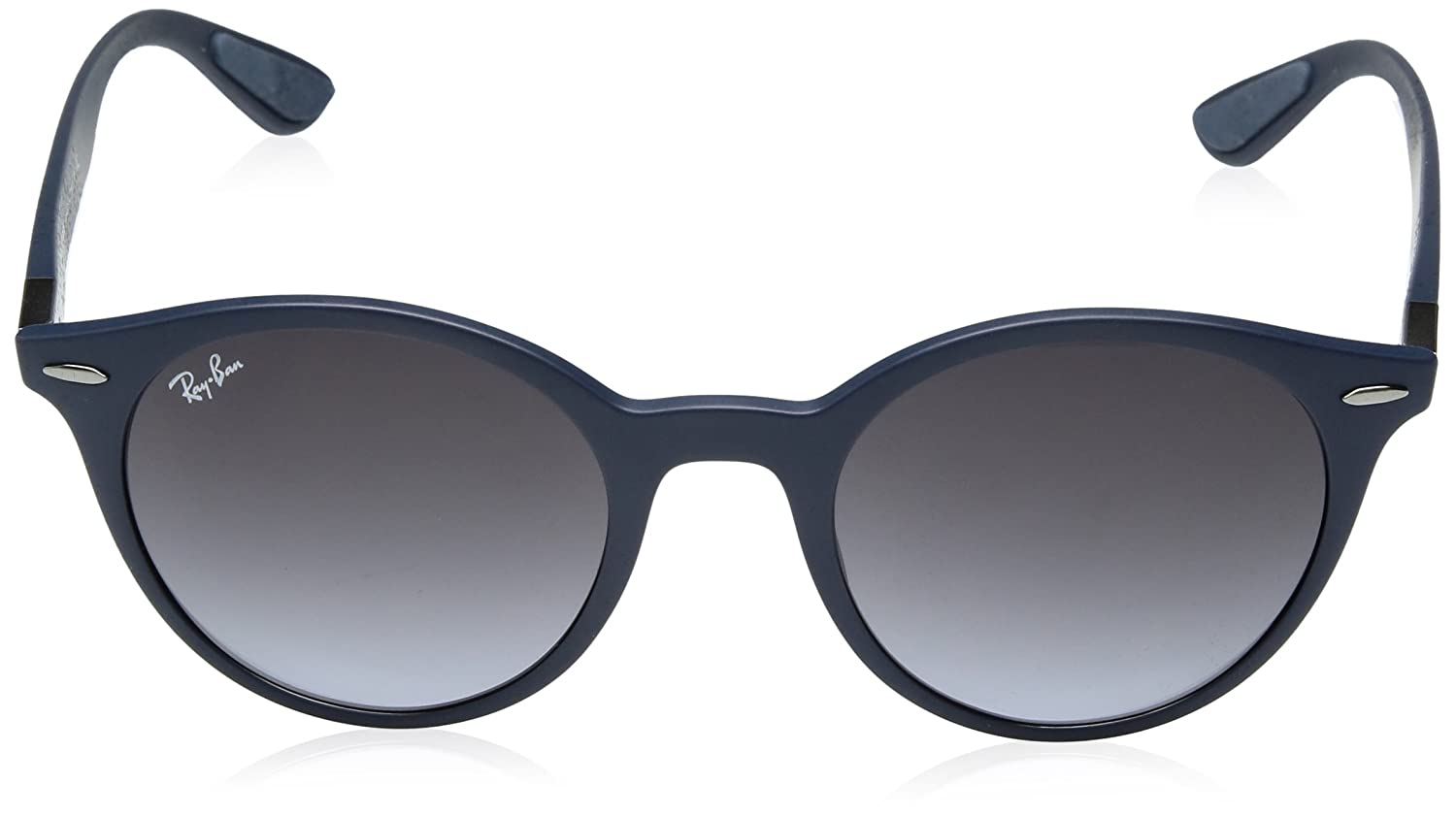 c0a1b79ac57 ... discount code for amazon ray ban plastic unisex round sunglasses matte  black 51 mm clothing 7f95a ...