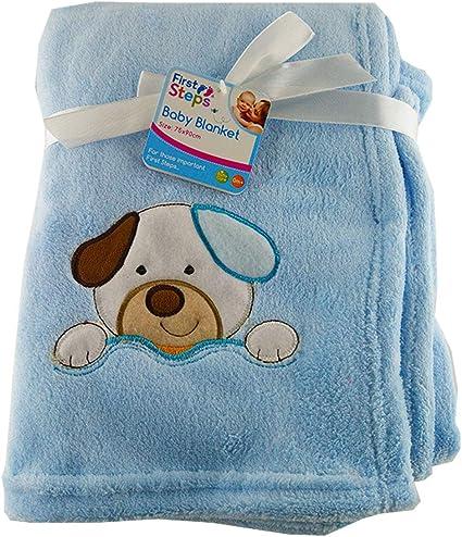 Baby Fleece Blanket cot pram Travel Babies Soft Comfort Luxury 75x100cm