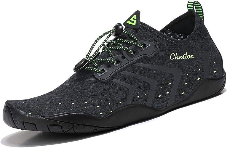 Amazon.com: Cheston - Zapatillas de agua para hombre de ...