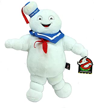 "Officially Licensed - Ghostbusters 14"" 35cm Super Soft Plush Toy - Stay Puft Marshmallow Man"