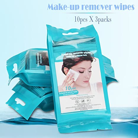 Betope Toallitas Desmaquillantes, Toallitas de limpieza para quitar maquillaje, MakeUp Wipes, Hidratante,