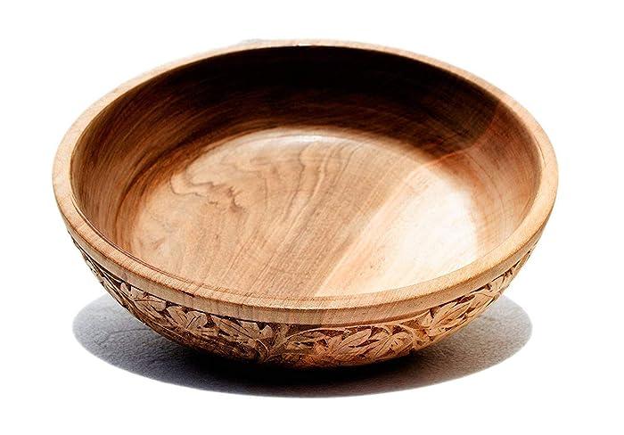 Amazoncom Boulevarte Handmade Wooden Bowl Wooden Vanity Bowl