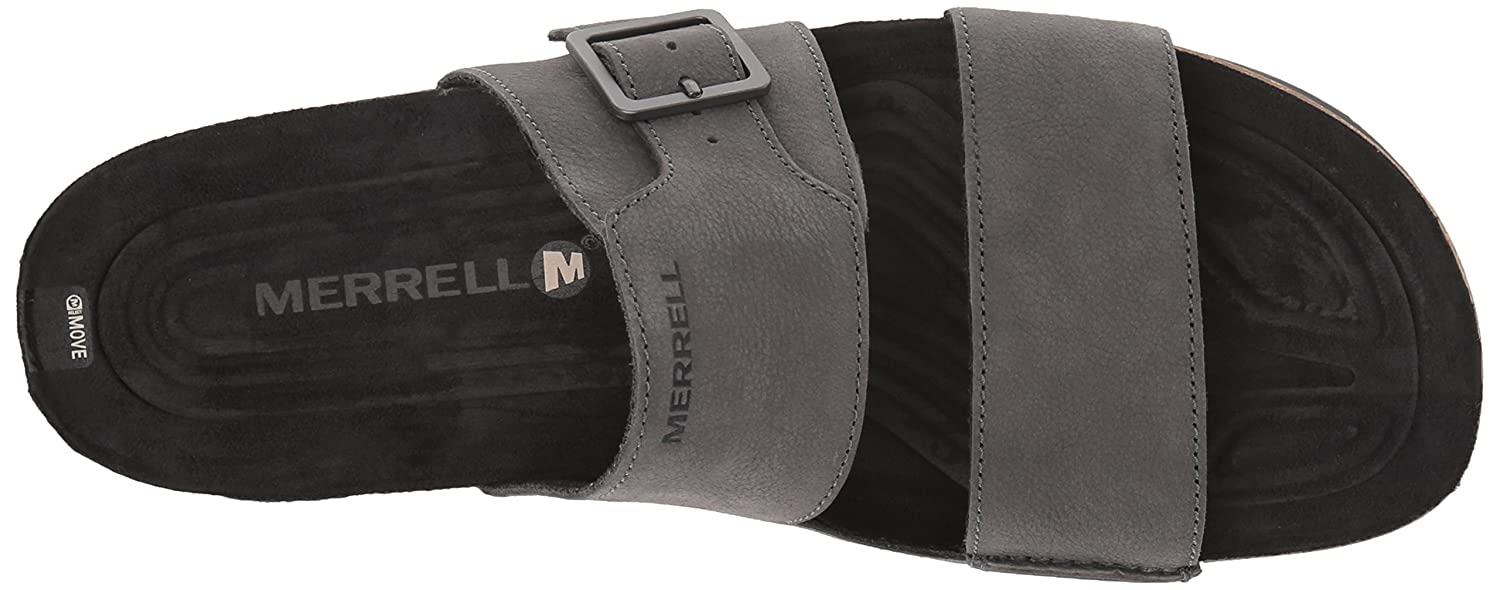 Merrell Downtown Slide Buckle, Sandales Bout Ouvert Homme