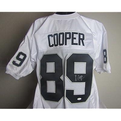 best website 54691 71db2 Amari Cooper Autographed Signed Oakland Raiders Jersey ...